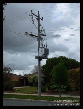 so kommt der Strom in australische Haushalte