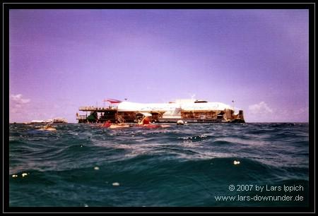 Marine World aus dem Wasser
