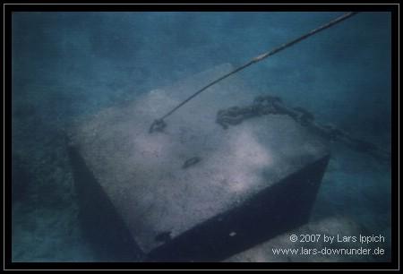 Verankerung von Marine World